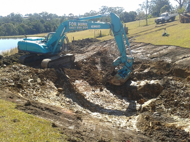 Excavating a New Dam